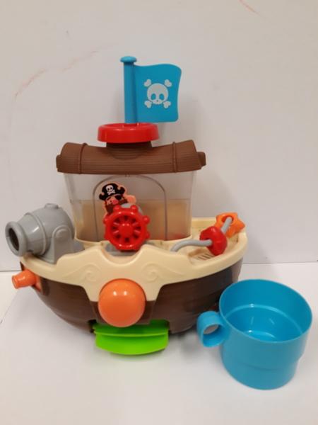 E1.414.3: Brown Pirate Ship