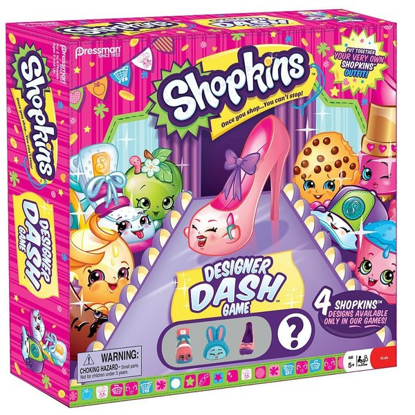G1.443.1: Shopkins - Designer Dash Game