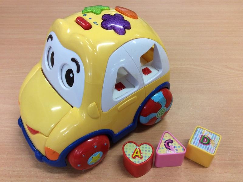 C1.002.4: Pull along Car Shape-O