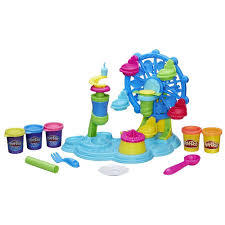 E2.981.8: Cupcake Ferris Wheel Play-Doh set