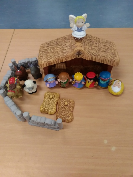 E2.154.1: Little People Nativity Scene