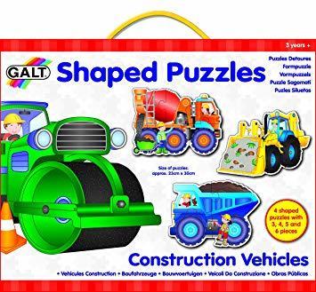 C2.952.4: Constructions Vehicle - 4 Puzzles