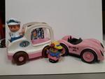 E2.197.2: ICECREAM VAN and Pink Car