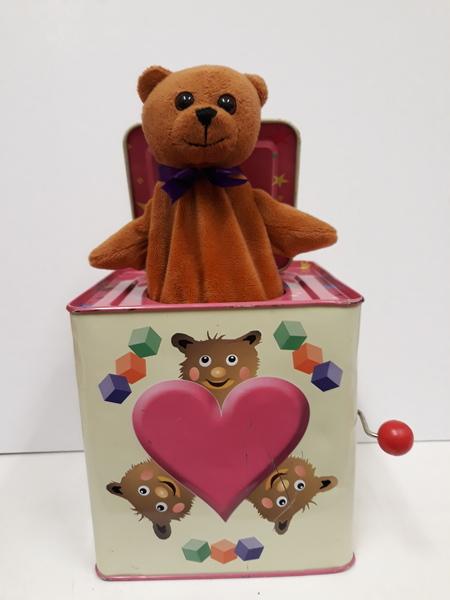 B2.012.3: TEDDY JACK IN THE BOX