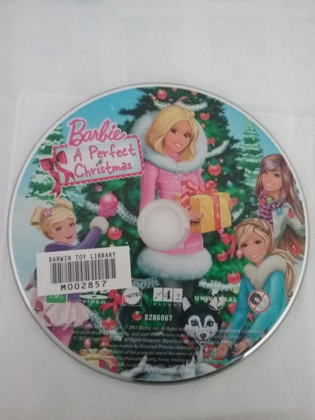 A6.112.3: Barbie A PERFECT  CHRISTMAS