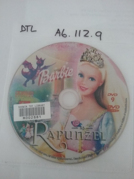 A6.112.9: Barbie - Rapunzel