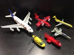 E2.110.12: Matchbox - Helicopter and Racing Cars