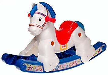 A2.077.8: Plastic Rocking Horse