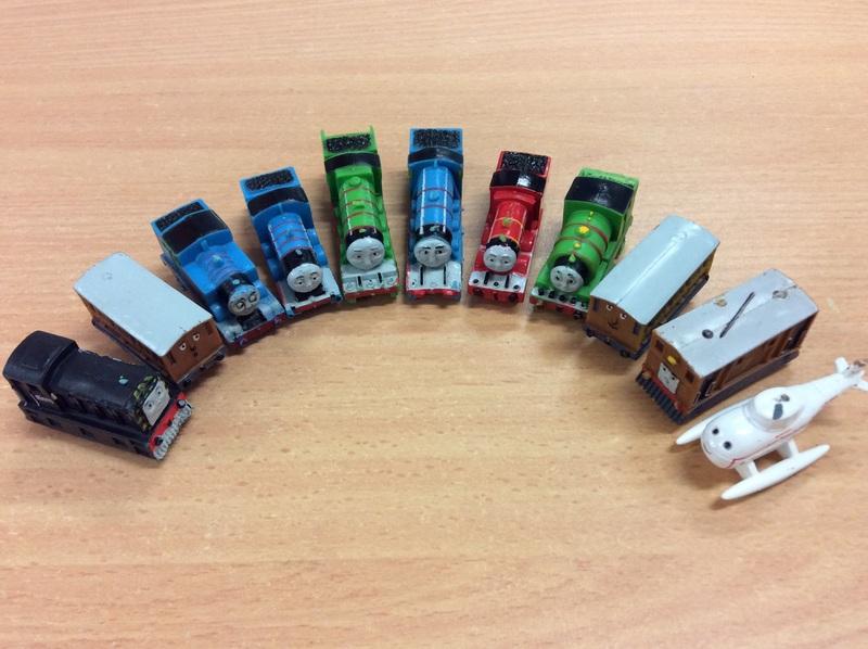 E2.157.1: Mini Thomas the Tank Engine and Friends