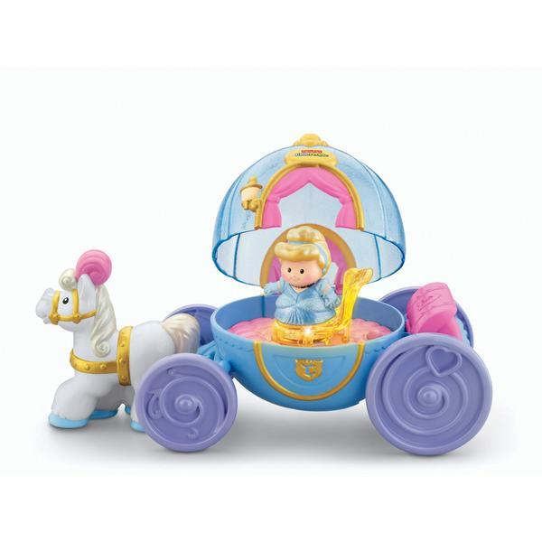 E2.354.7: Little People Princess Carriage