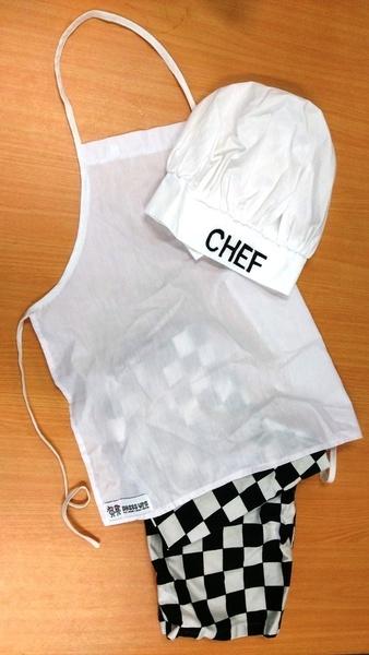 E2.001.2: CHEF DRESS-UP