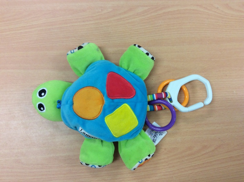B2.559.12: Lamaze Clip on Turtle