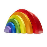 C1.006.2: Over the Rainbow Wooden Stacking Blocks