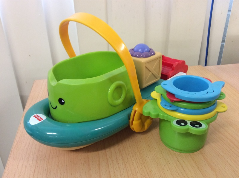 E1.199.7: Fisher Price Paddle Boat