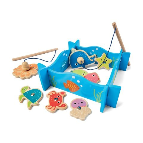 G1.323.4: Wooden Magnetic Fishing