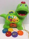 B2.537.4: Feed Me Dino Pull Along Activity Toy
