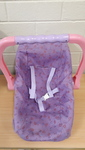 E2.882.4: PURPLE/PINK BABY DOLL CARRIER