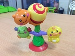 B2.018.3: HIGHCHAIR FISHER PRICE ANIMAL SPINNING TOY