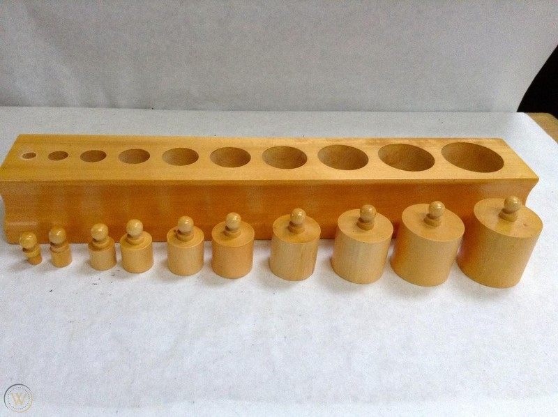 F1.009.2A: Block Cylinder Puzzle
