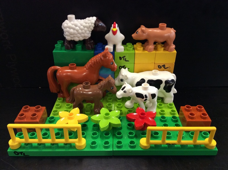 C3.012.2: DUPLO FARM ANIMAL SET