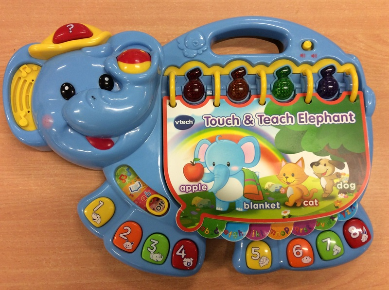 E3.149.2: vtech Touch & Teach Elephant