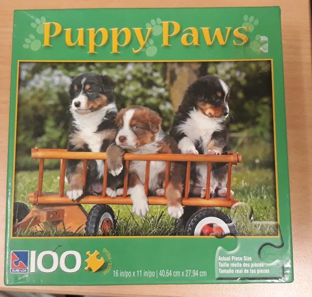 C2.100.7: PUPPY PAWS PUZZLE