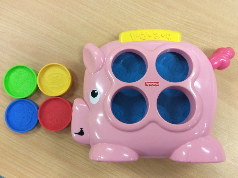 B2.534.3: FISHER PRICE PIG 1.2.3.4