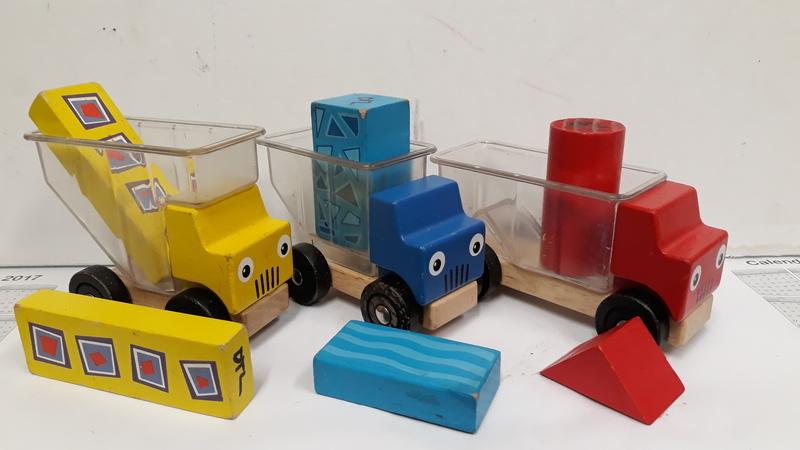 E2.925.4: Wooden Trucks and Blocks
