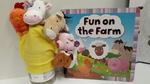 E3.893.4: Fun on the Farm - book and glove puppet
