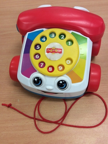 B1.258.5: Pull Along Toy Telephone