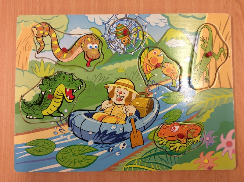 C2.958.8: Jungle Animal Puzzle