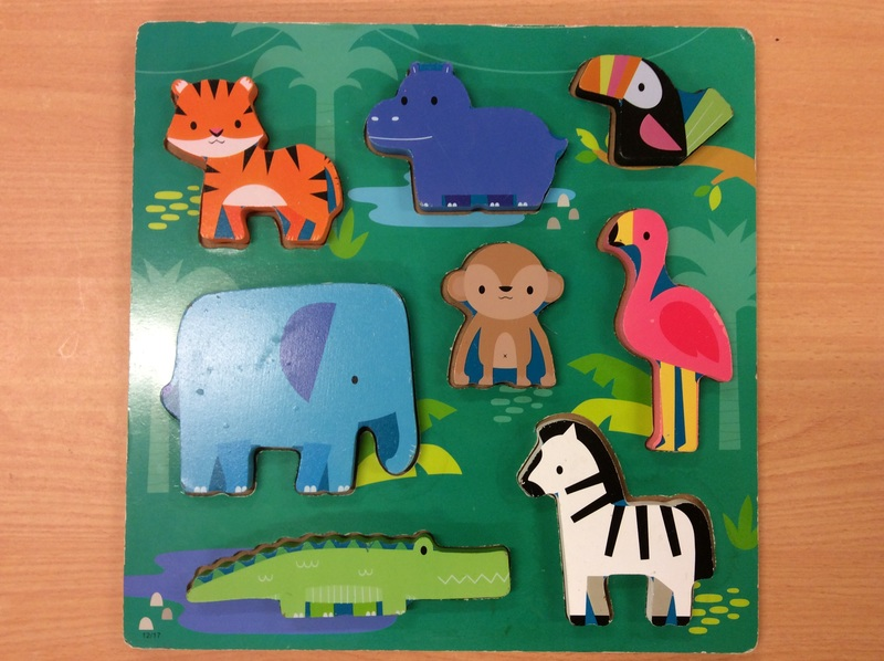 C2.958.11: African Animals Chunky Puzzle