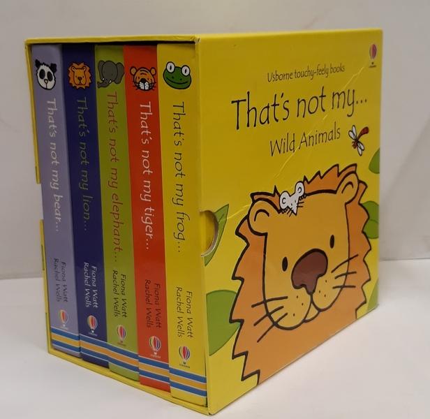 E3.913.3: That's not my .... Wild Animals Box of Books