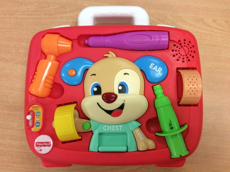B2.729.2: Fisher Price Puppy's Check Up