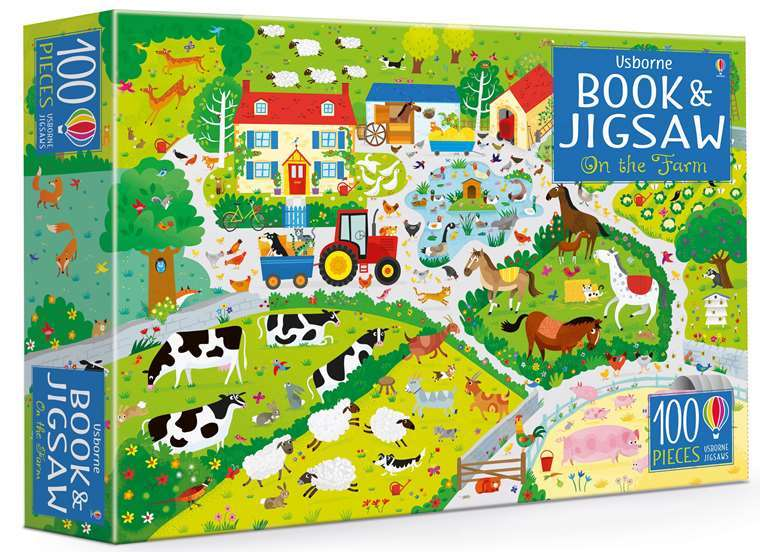 C2.100.16: On The Farm Jigsaw & Book