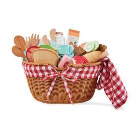 E2.095.4: Wooden Picnic Set