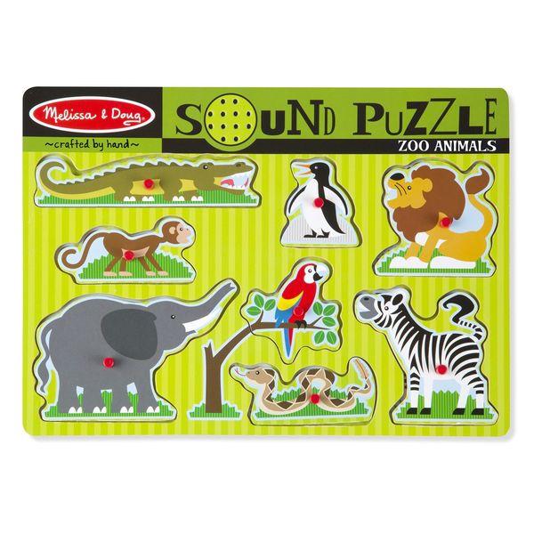 C2.565.1: Zoo Animals Sound Puzzle