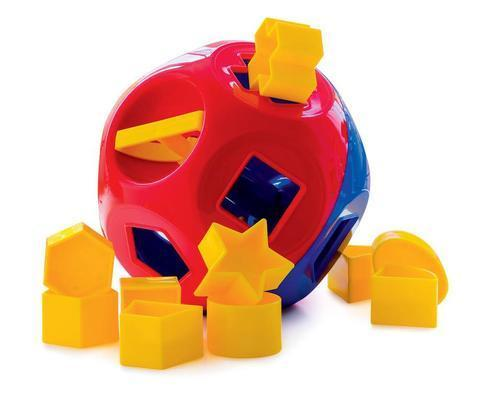 C1.101.1: TUPPERWARE SHAPE SORTER