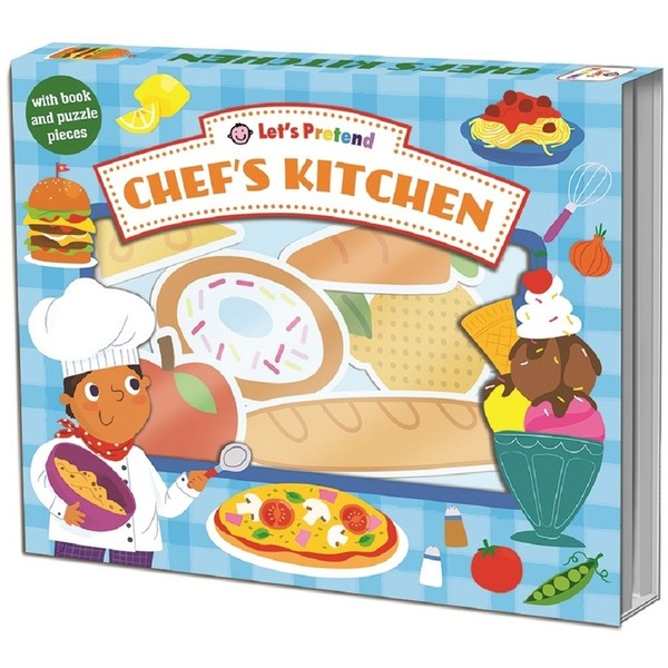 C2.261.1: Chef's Kitchen Puzzle and Book