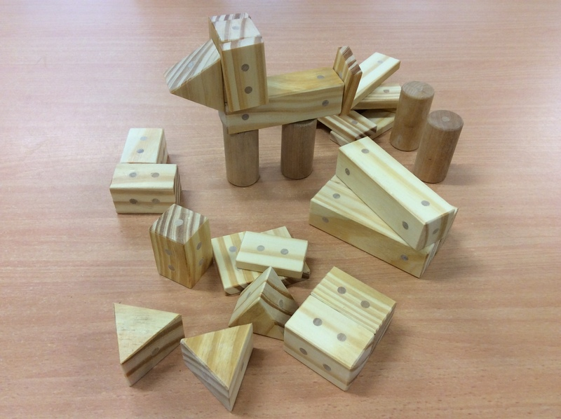 C3.483.6: Wooden Magnetic Blocks
