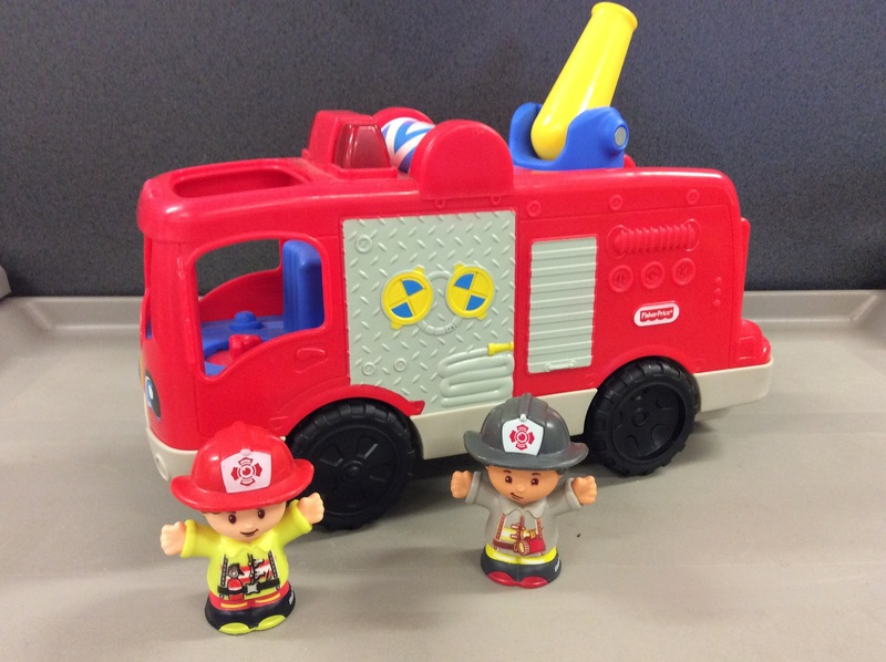 E2.109.5: LITTLE PEOPLE FIRE ENGINE