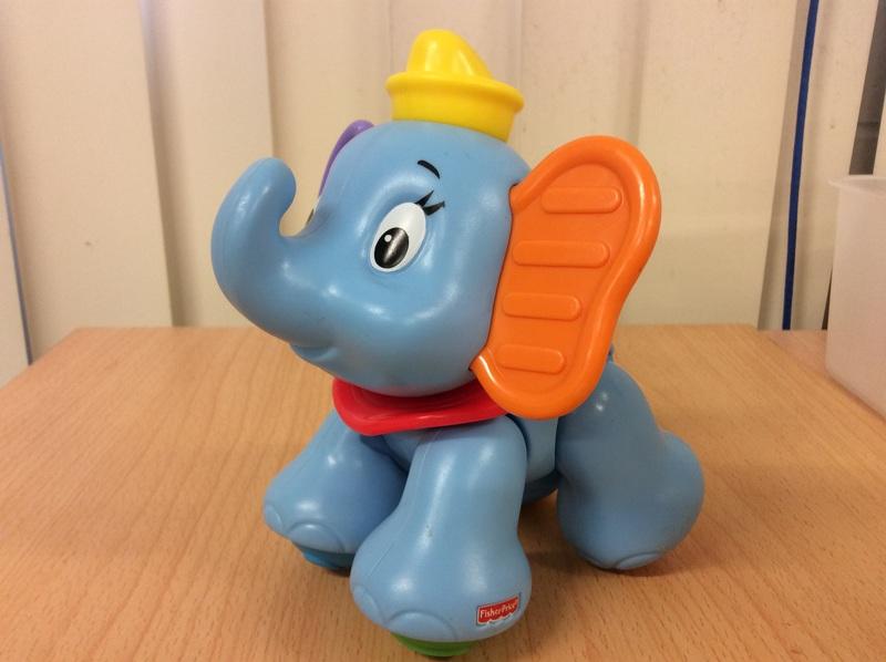B2.008.2: Fisher Price Dumbo Clicker Pal