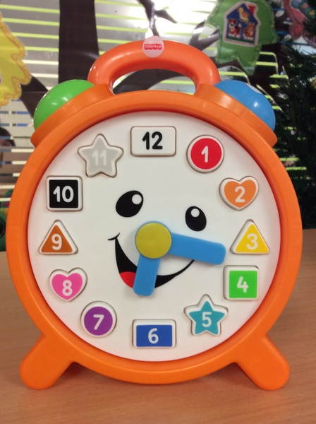 B2.025.1: Laugh & Learn Counting Colours Clock