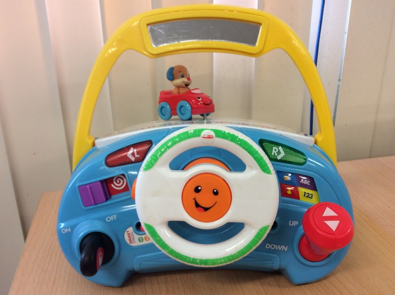 B2.026.1: Fisher Price Laugh & Learn Puppy Smart Stages Driver