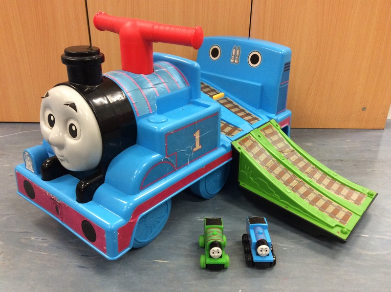 A2.031.5: THOMAS THE TANK ACTIVITY TRAIN RIDE ON