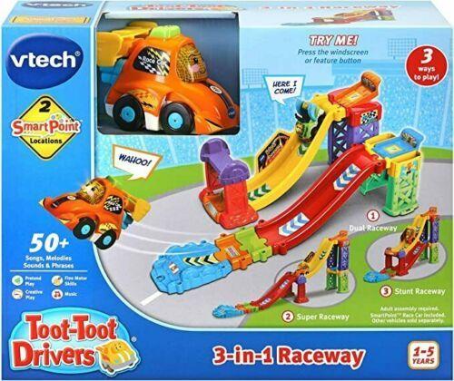 E2.234.1: VTech Toot Toot Drivers Ramp 3-in-1 Raceway