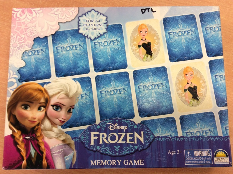 D1.055.1: Frozen Memory Game