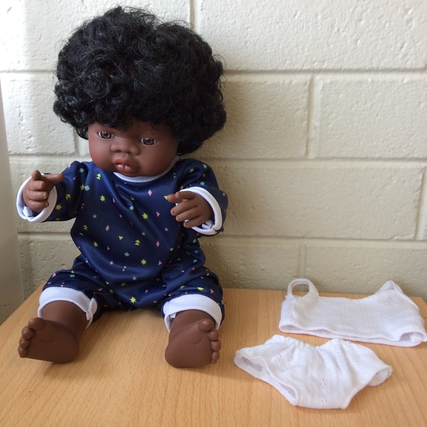 E20275: Miniland Doll with outfit