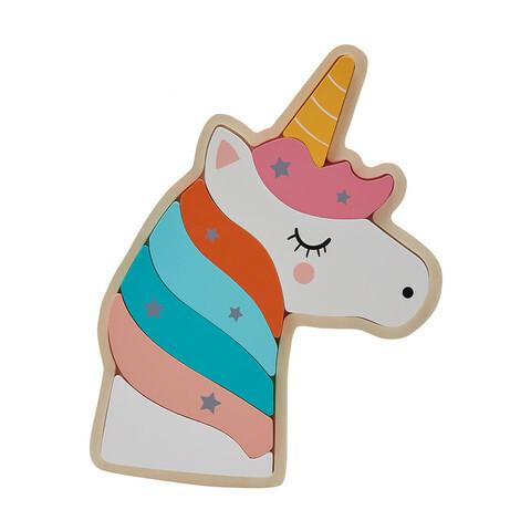 C100713: Unicorn Chunky Puzzle