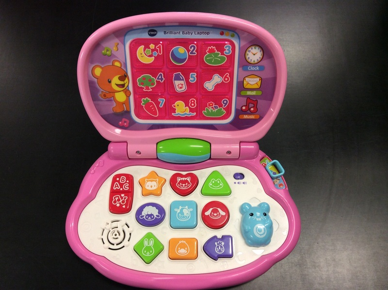 E3.554.9: V Tech Brilliant Baby Laptop
